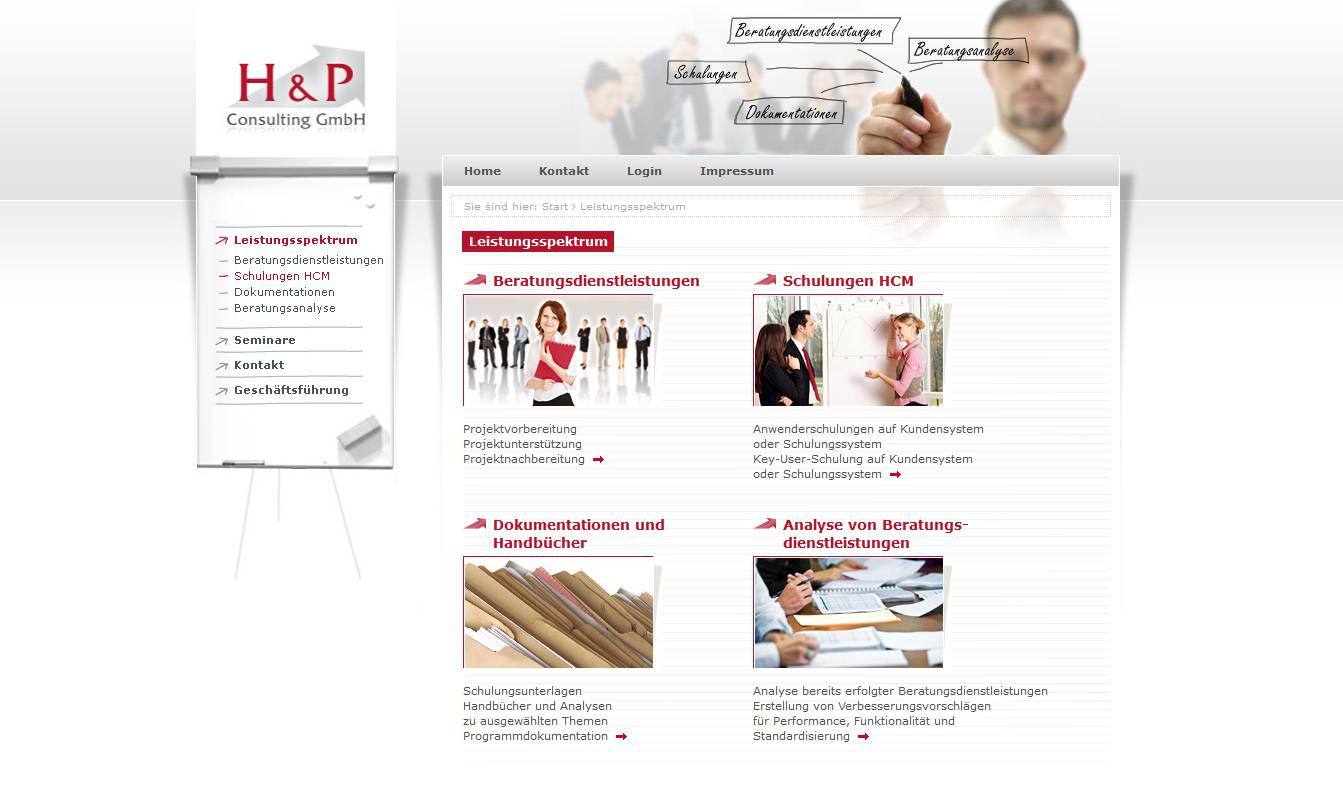 Webdesign HUP Consulting GmbH